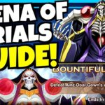 AINZ ARENA OF TRIALS GUIDE!!! [AFK ARENA]