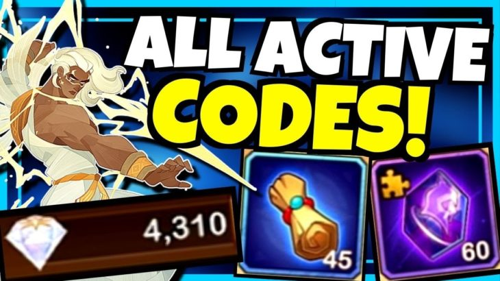 ALL ACTIVE CODES OCTOBER 2020!!! [AFK ARENA]