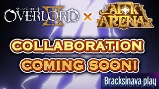 Overlord x Afk arena confirmado.