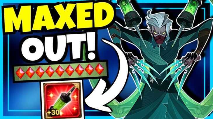 MAXED OUT SILAS IS A BEAST!!! [AFK ARENA]