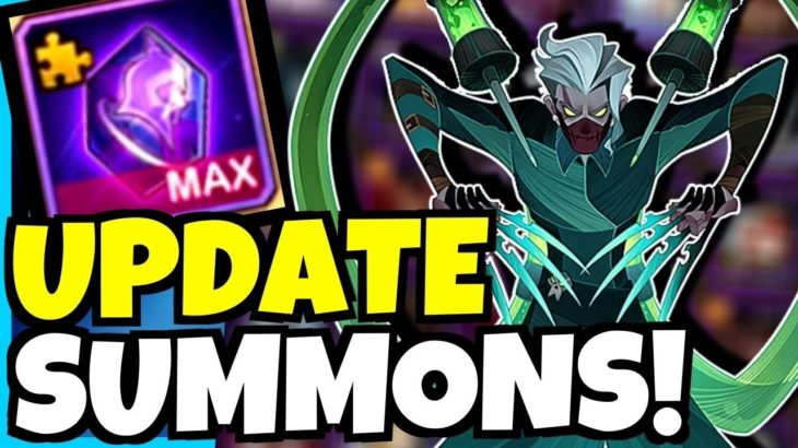 SILAS UPDATE SUMMONS!!! [AFK ARENA]