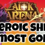 TRYING TO FINISH LUCRETIA! [AFK ARENA LIVE]
